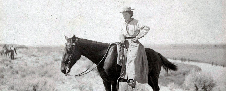 Minerva riding a horse