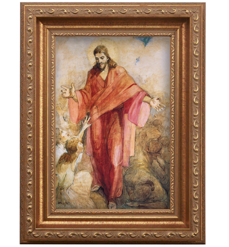 Red Robe antique gold frame.png