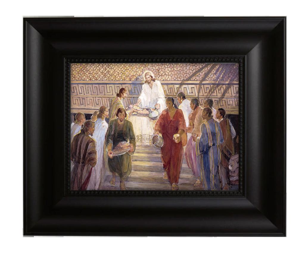 christ blesses the nehites Black cove Frame.png