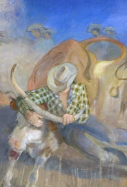 day at the rodeo minerva teichert.png